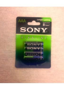 Pack de 4 petites piles Alkaline