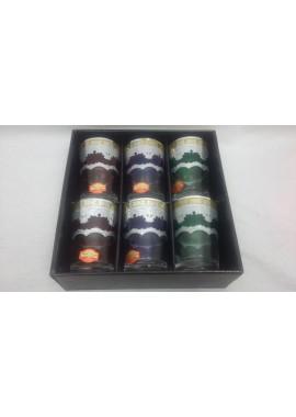6 verres à thé Hilal croissant