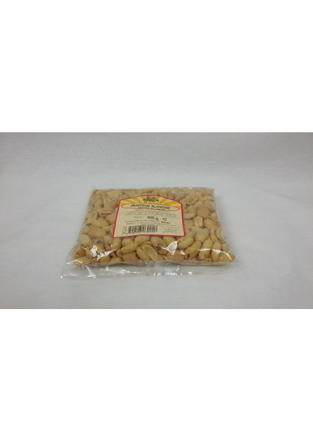Arachides blanchies grillées salées 400gr