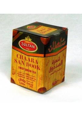 Thé vert sultan san dook chaâra - en boite de 200gr