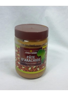 Pâte d'arachide Etoile d'afrique  - pot en verre de 500g