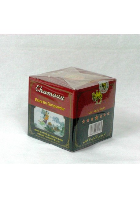 Thé vert chameau - en boite de 250gr