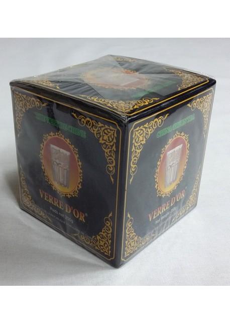 Thé vert verre d'or spécial en boite de 250gr